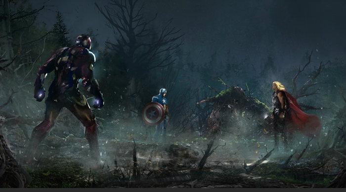 The Avengers เผยภาพคอนเซ็ปต์อาร์ตขั้นเทพ
