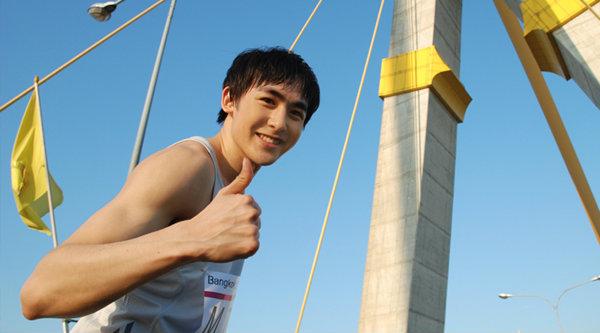 นิชคุณ ประเดิมวิ่งมาราธอน 42.195 กม