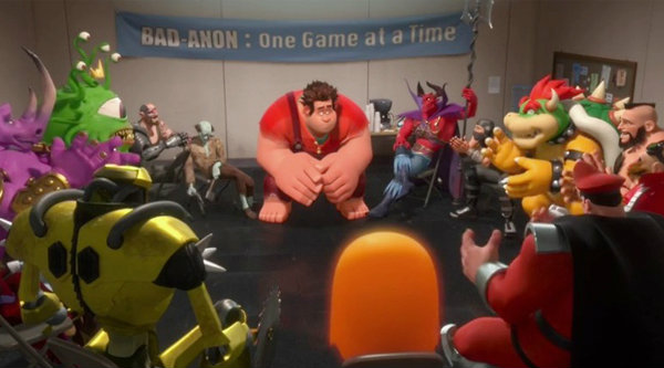 ดูคลิปตัวร้ายเกมอาร์เคตอยากเป็นพระเอก ใน Wreck-It Ralph