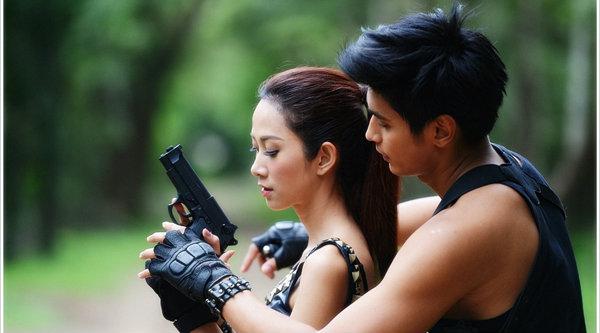 เก็บตก ยุ้ย - ธัญญ์ คู่รักนอกจอ ป่านางเสือ2