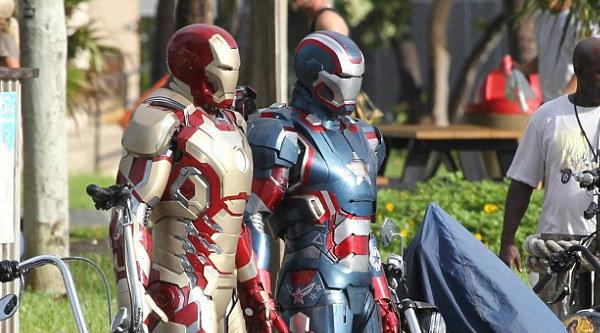 เผยภาพ ไอรอนแมน ประกบคู่หูใหม่ ใน Iron Man 3