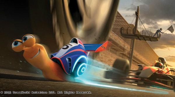 Turbo เจ้าหอยทากนักซิ่ง ปล่อยภาพเซ็ตแรก
