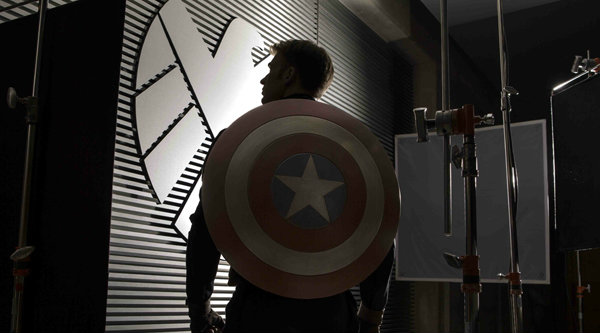 ยลโฉมภาพแรก Captain America: The Winter Soldier