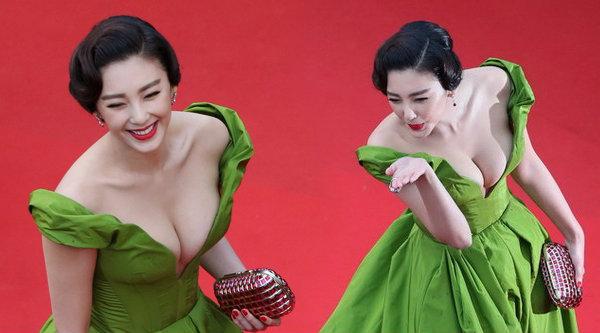 จางอี่ว์ฉี สาวจีนสุดเซ็กซี่บนพรมแดนหนังเมืองคานส์