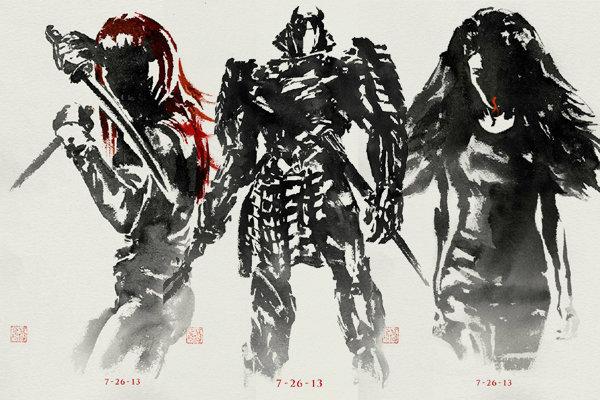 ชมภาพ Ink Art สุดเริ่ด! พร้อมตัวอย่างมาใหม่ The Wolverine
