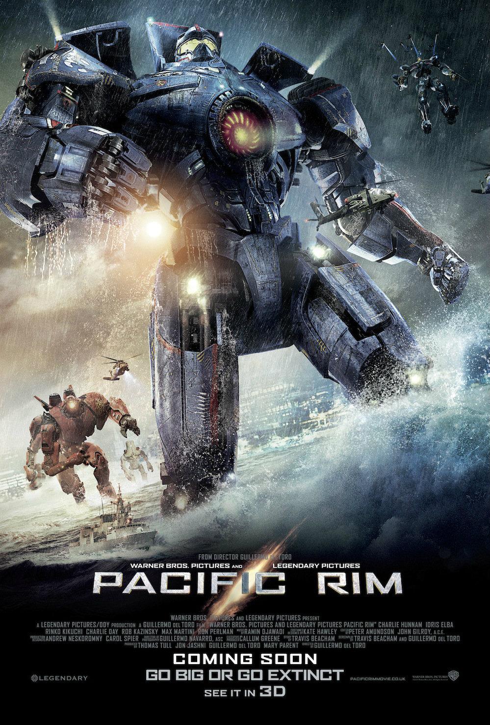 มาแล้ว! คลิปเบื้องหลังของเจ้าหุ่นยนต์ Jaeger จาก Pacific Rim