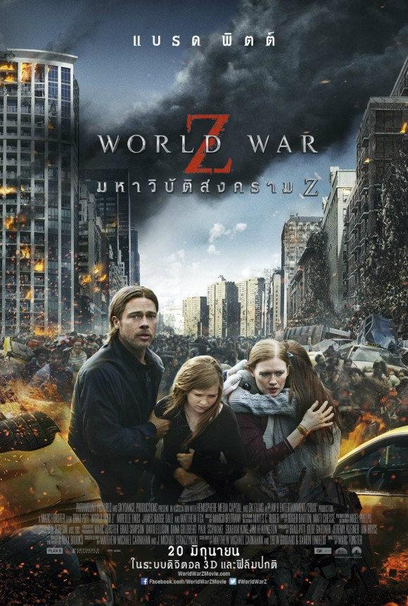 หนัง World War Z มหาวิบัติสงคราม Z