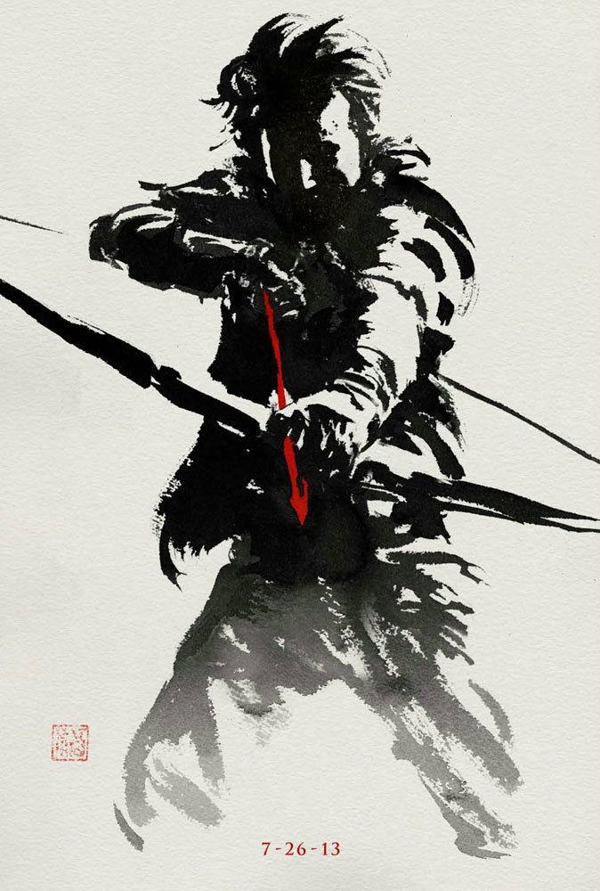 ใหม่! Ink Art  เซ็ตสองจาก The Wolverine – เดอะ วูล์ฟเวอรีน