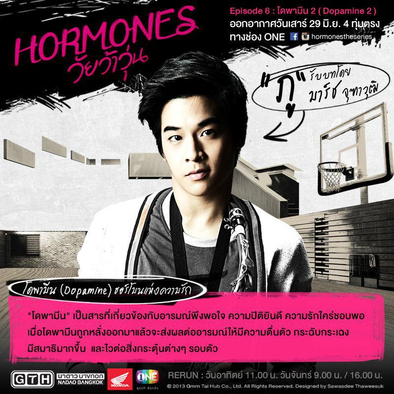 Hormones วัยว้าวุ่น เรื่องย่อ ตอนที่ 6 โดพามีน 2 ( 29 มิ.ย.56 )