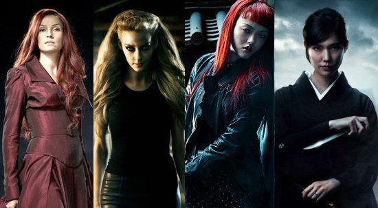 4 สาว 4 สไตล์ใน The Wolverine