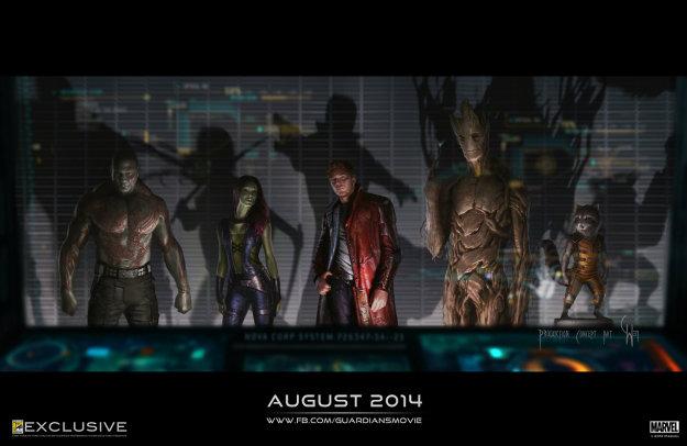 เผยข้อมูลล่าสุดจากหนัง Guardians of the Galaxy