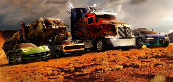 เผยโฉมรถทั้งหมดที่ใช้ในหนัง Transformers 4