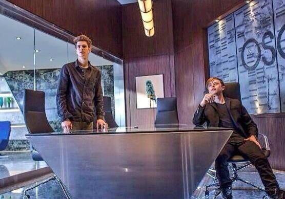 ปีเตอร์ และ แฮร์รี่ ในภาพใหม่ The Amazing Spider-Man 2