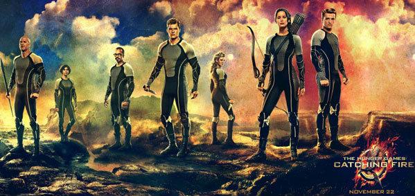 แบนเนอร์ใหม่ The Hunger Games: Catching Fire พร้อมสู้ศึก!