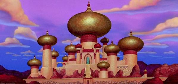 สถานที่จริงสู่ภาพในอนิเมชั่น Disney