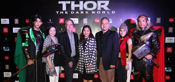 Thor: The Dark World ไทยแลนด์ กาล่า สกรีนนิ่ง เปิดตัวสุดยิ่งใหญ่!