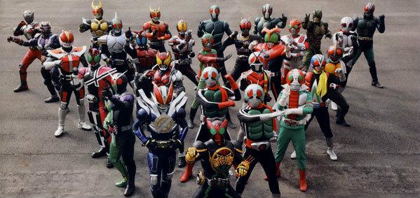 Heisei Rider vs. Showa Rider มดแดงยุคเก่าVSยุคใหม่