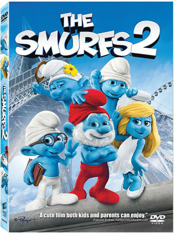 โดนใจคอหนัง ชิงดีวีดีหนัง Smurfs 2