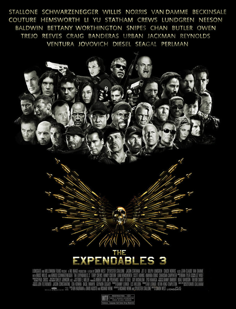 หนัง The Expendables 3