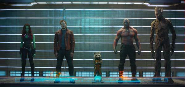 Guardians of the Galaxy ปล่อยภาพทีเซอร์แรกออกมาแล้ว!!