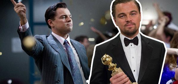 ลีโอนาโด ดิคาปริโอ สุดเจ๋ง คว้ารางวัลลูกโลกทองคำจากภาพยนตร์ THE WOLF OF WALL STREET