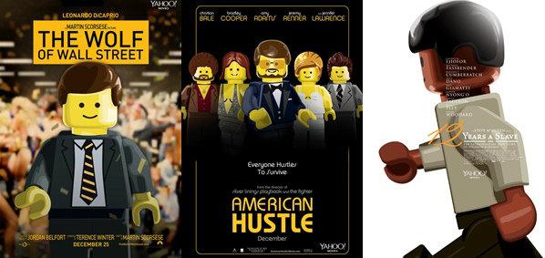หัวใส! จับ Lego เป็นโปสเตอร์หนังชิงออสการ์ 2014