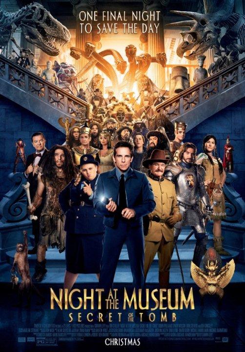 ความลับสุสานอัศจรรย์ Night at the Museum 3