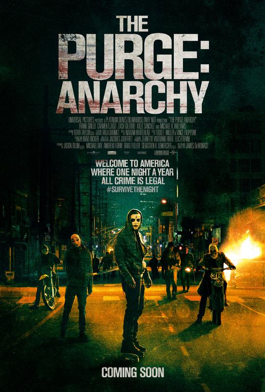 คืนอำมหิต คืนล่าฆ่าไม่ผิด The Purge Anarchy