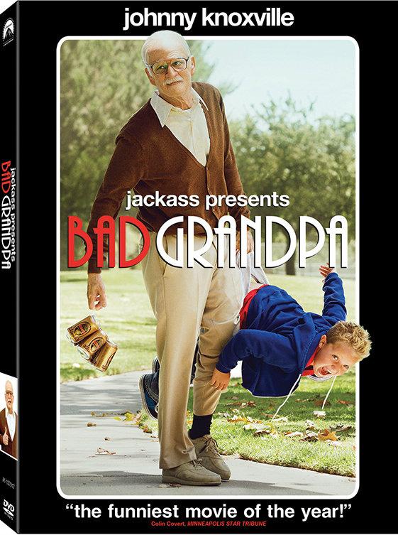 โดนใจคอหนัง แจกดีวีดี Jackass Presents  Bad Grandpa (ประกาศผล)