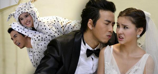 ออม-โย่ง จูงมือถ่ายรูปพรีเวดดิ้งสุดน่ารัก ฉากในละคร 'จูบ Kiss Me'