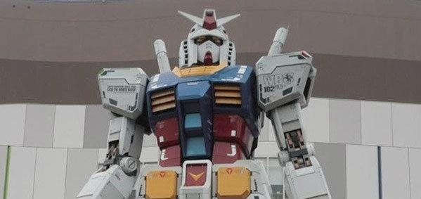 ญี่ปุ่นตั้งเป้าสร้างหุ่นกันดั้มขนาดเท่าของจริง ที่สามารถขยับได้