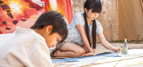 แม็ค-พรีม พริ้วเจองานหินโชว์ฝีมือเทพ ช่างศิลป์วัยกระเต๊าะ หนัง ตุ๊กแกรักแป้งมาก