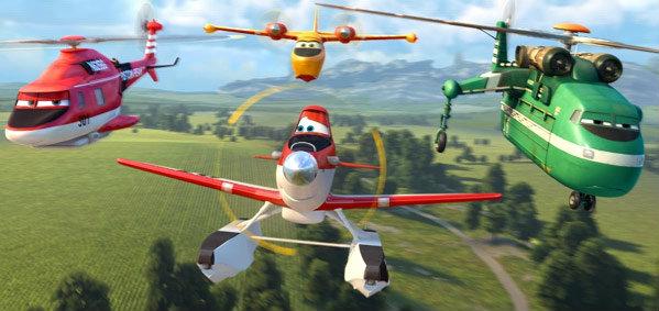 """""""Planes Fire & Rescue"""" พร้อมบินทะยานฟ้า ในระบบดิสนีย์ ดิจิตอล 3 มิติ"""