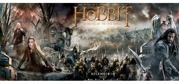 อลังการไปกับโปสเตอร์แบนเนอร์จากภาพยนตร์ฟอร์มยักษ์ The Hobbit The Battle of The Five Armies