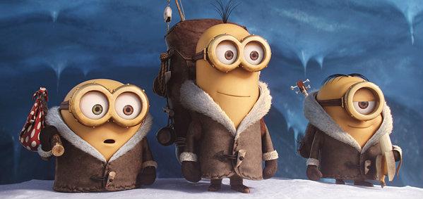 พระเอกเต็มตัว! ตัวอย่างแรกของภาพยนตร์ Minions