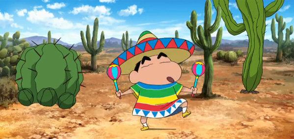 ชินจังเดอะมูฟวี่ เปิดตัวภาคใหม่ชินจังป่วนเม็กซิโก