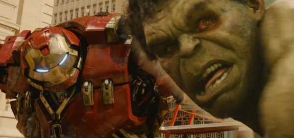 ฮัค-ไอรอนแมน คลุกวงใน ตัวอย่างล่าสุด Avengers Age of Ultron