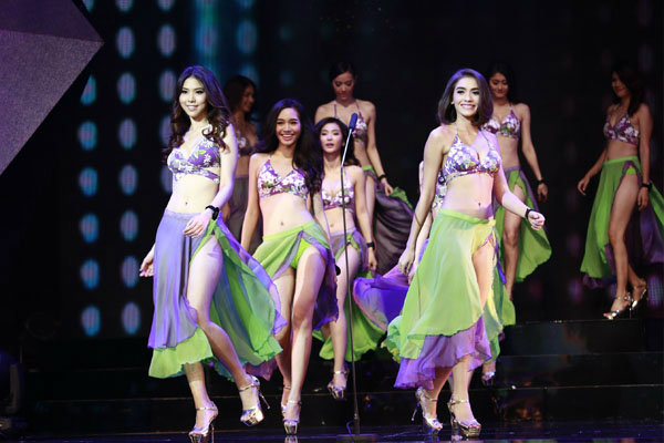 """การประกวด """"Miss Beauty & Talent THAILAND"""" รอบตัดสิน"""