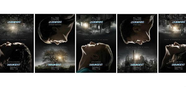 """ทึ่งสุดเจ๋ง ! โปสเตอร์ 3 มิติใหม่ล่าสุด ปรากฏการณ์ไซไฟป """"The Divergent Series Insurgen"""""""