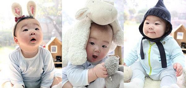 ซงอิลกุก เผยภาพแฝดสามตระกูลซง แทฮัน มินกุก มันเซ รับวันปีใหม่เกาหลี