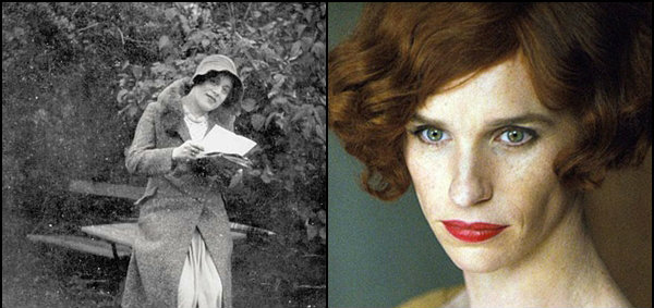ตะลึง! เอ็ดดี้ เรดเมย์น แต่งหญิงในหนัง The Danish Girl