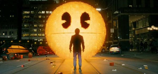ตัวอย่างแรกหนัง Pixels พิกเซล เกมส์บุกโลก!