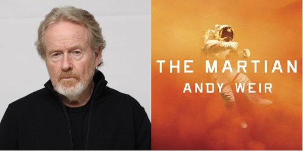 เผยภาพแรกจากกองถ่าย The Martian แมตต์ เดมอนจับมือริดลีย์ สก็อตต์