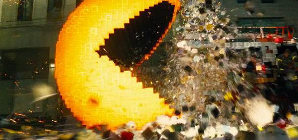 PIXELS หนังพล็อตเจ๋ง เกมแพ็คแมนเขมือบเมืองมนุษย์