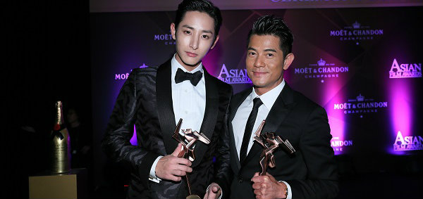 ลีซูฮยอก (Lee Soo Hyuk) คว้ารางวัลนักแสดงดาวรุ่งในงาน Asian Film Awards ครั้งที่ 8