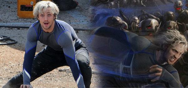 ควิกซิลเวอร์ ตัวละครฝาแฝดของ สการ์เล็ตวิทช์ ใน AVENGERS: AGE OF ULTRON