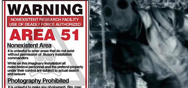 AREA 51 สุดระทึกเทปลับบุกที่กบดานเอเลี่ยน