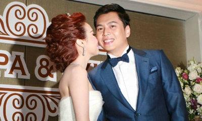 หวานสุด! งานแต่งลูกเจ๊แดง บ่าวสาว จุ๊บฉลองวันวิวาห์