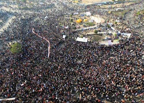 ฝ่ายต้านรบ.อียิปต์เริ่มชุมนุมแล้วหลายพันคน