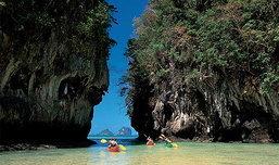 เกาะห้อง มหัศจรรย์ธรรมชาติ ในป่าเกาะ จ.กระบี่